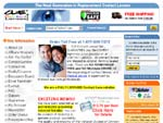 CLE Contact Lenses contact lenses online store screenshot